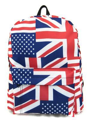 Рюкзак Creative. Цвет: белый, темно-синий, красный