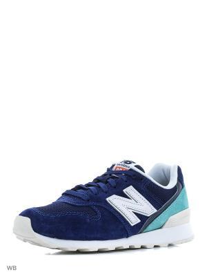 Кроссовки NEW BALANCE 996. Цвет: синий