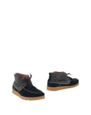 Полусапоги и высокие ботинки DOLFIE. Цвет: темно-зеленый