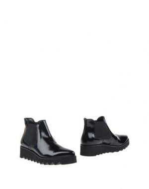 Полусапоги и высокие ботинки ANGELA GEORGE. Цвет: черный