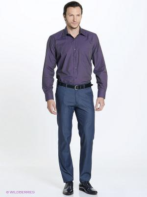 Рубашка Conti Uomo. Цвет: фиолетовый