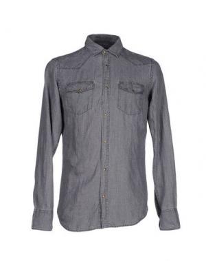 Pубашка MESSAGERIE. Цвет: стальной серый