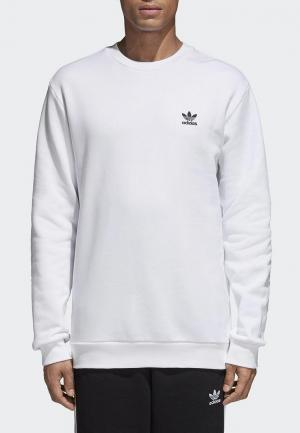 Свитшот adidas Originals. Цвет: белый