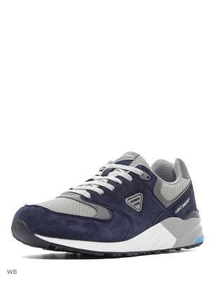 Кроссовки STROBBS. Цвет: синий, серый