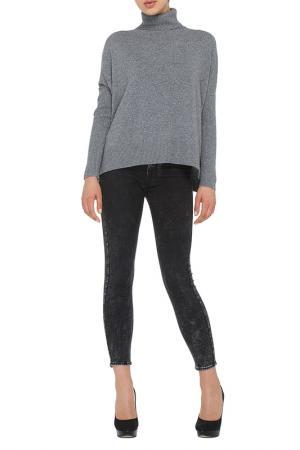 Пуловер LOVE CASHMERE. Цвет: серый