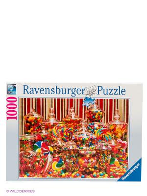 Пазл Конфетный рай, 1000 элементов Ravensburger. Цвет: белый