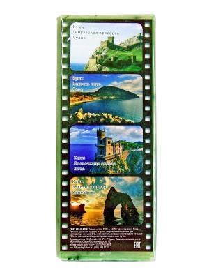 Твердое натуральное мыло Крымские травы Мята-Мелисса Крымская Натуральная Коллекция. Цвет: зеленый