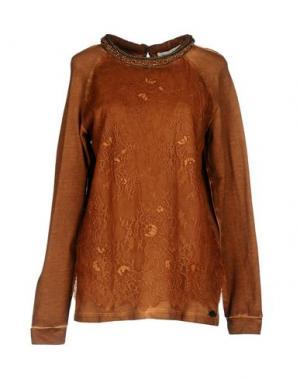 Пижама TWIN-SET Simona Barbieri. Цвет: коричневый