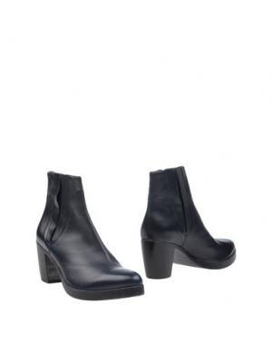 Полусапоги и высокие ботинки LENA MILOS. Цвет: темно-синий