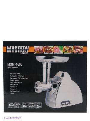 Мясорубка Mystery MGM-1600 1600Вт белый. Цвет: белый