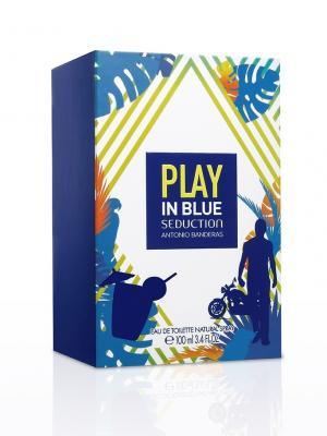 Antonio Banderas PLAY BLUE SEDUCTION М Туалетная вода 100мл. Цвет: прозрачный