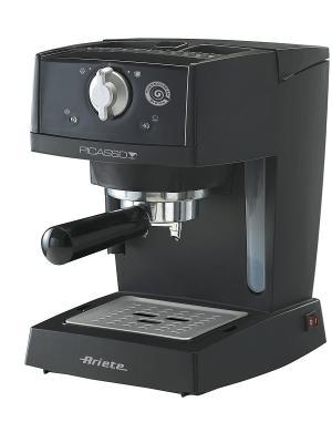 Кофеварка эспрессо 1365 Picasso. 850 Вт, 15 бар ariete. Цвет: черный