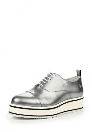 Ботинки Bronx. Цвет: серебряный