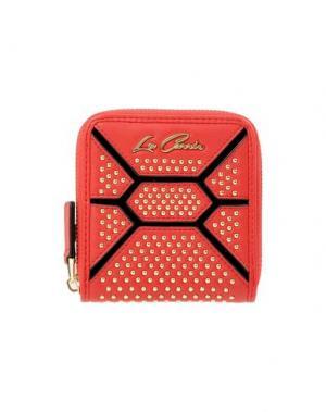 Бумажник LA CARRIE BAG. Цвет: красный