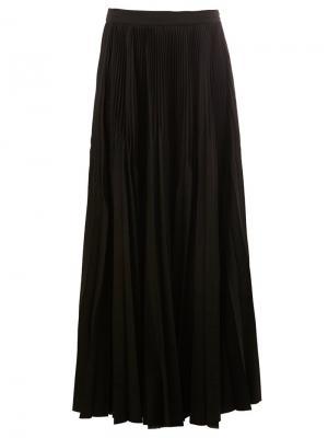 Длинная юбка Masnada. Цвет: чёрный