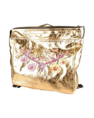 Рюкзаки и сумки на пояс LEITMOTIV. Цвет: золотистый
