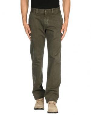 Повседневные брюки J.W. BRINE. Цвет: свинцово-серый