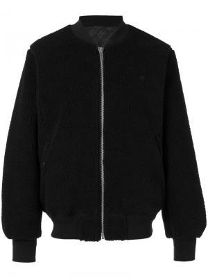 Куртка-бомбер Rev Adidas Originals By Alexander Wang. Цвет: чёрный