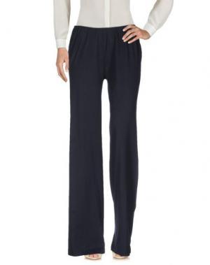 Повседневные брюки STEFANO MORTARI. Цвет: темно-синий