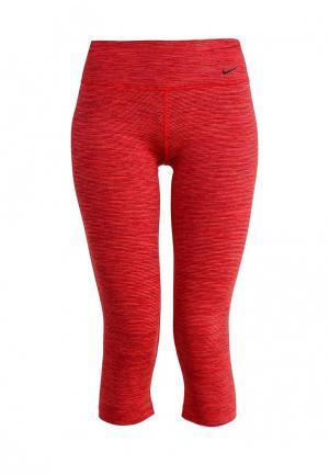 Капри Nike. Цвет: красный