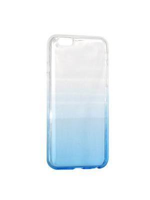 Крышка задняя для Iphone6/6S Силикон IQ Format. Цвет: синий