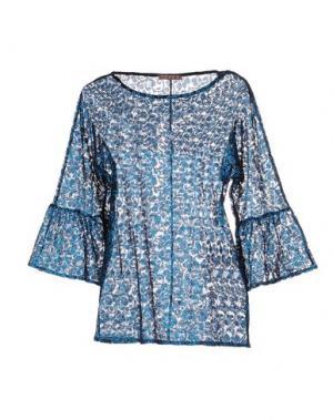 Блузка DV ROMA. Цвет: лазурный