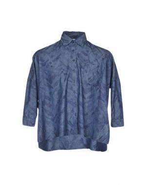 Джинсовая рубашка ETICHETTA 35. Цвет: синий