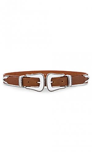 Пояс gaucho waist B-Low the Belt. Цвет: коньяк