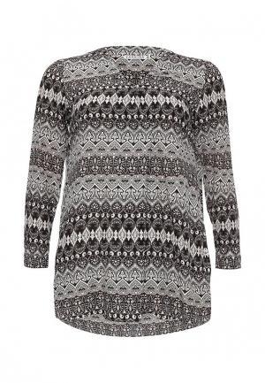 Блуза Yarmina. Цвет: серый