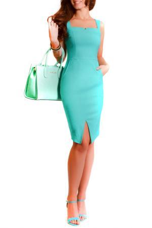 Платье FRANCESCA LUCINI. Цвет: изумрудный
