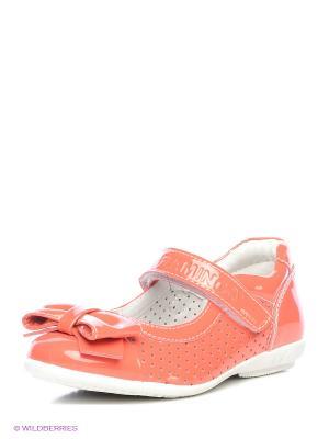 Туфли Flamingo. Цвет: коралловый