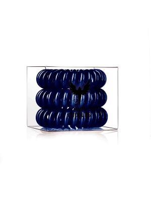 Резинка для волос Hair Cuddles HH Simonsen темно-синяя (3 шт.) НОВИНКА!. Цвет: темно-синий