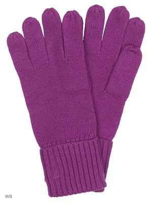 Перчатки Pur. Цвет: сливовый
