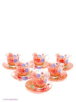 Набор чайный Bekker. Цвет: красный