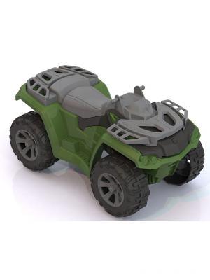 Квадроцикл Командир Нордпласт.. Цвет: зеленый