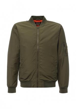 Куртка утепленная Gap. Цвет: хаки