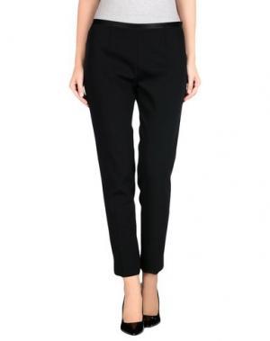 Повседневные брюки ANTONELLI. Цвет: черный
