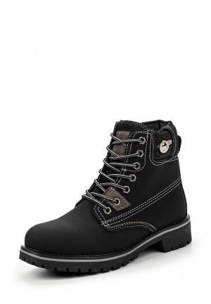 Ботинки Tony-p. Цвет: черный