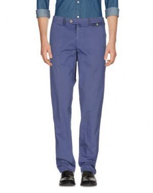 Повседневные брюки DIMATTIA. Цвет: фиолетовый