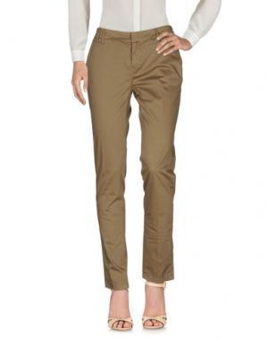 Повседневные брюки ROMANO RIDOLFI. Цвет: бежевый