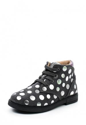 Ботинки Geox. Цвет: серый