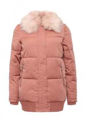 Куртка утепленная River Island. Цвет: розовый