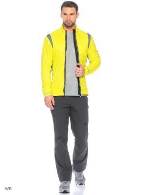 Куртка Xperior Edge Jacket Adidas. Цвет: салатовый