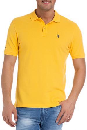 Футболка-поло U.S. Polo Assn.. Цвет: vr004 желтый