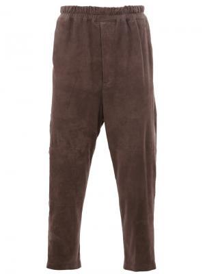 Укороченные брюки By Walid. Цвет: серый