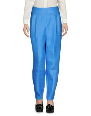 Повседневные брюки AVELON. Цвет: лазурный