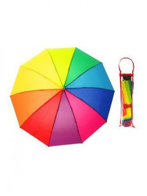 Зонт NeKi. Цвет: бордовый, малиновый, серебристый