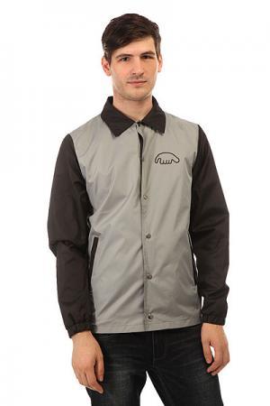 Ветровка  Coachjacket Grey Anteater. Цвет: черный,серый