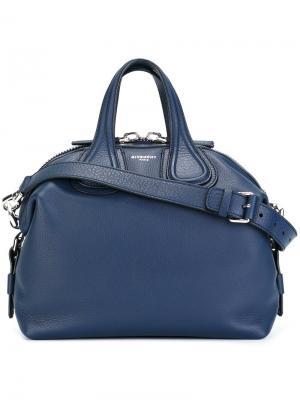 Небольшая сумка Nightingale Givenchy. Цвет: синий