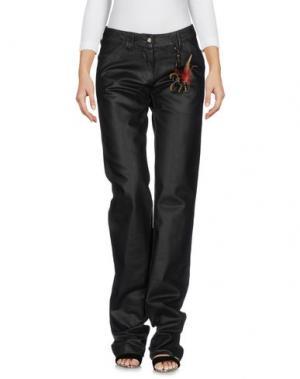 Джинсовые брюки ROBERTA SCARPA. Цвет: черный